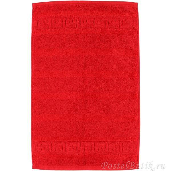 Полотенце 80х160 Cawo Noblesse 1001 красное