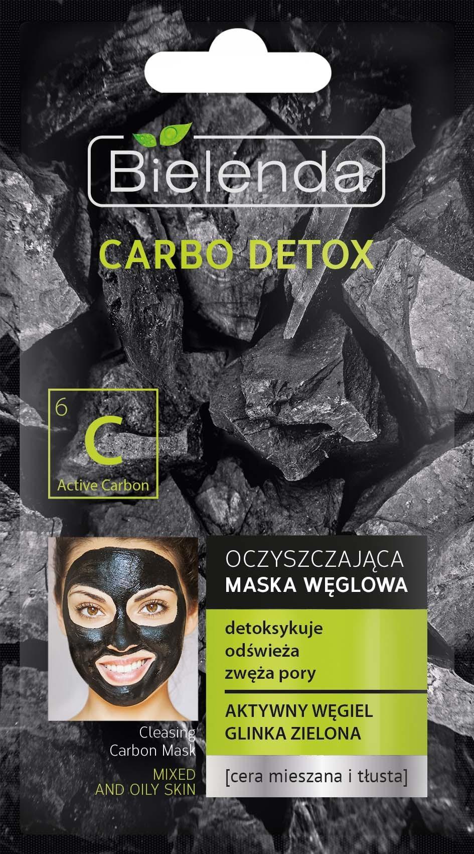 CARBO DETOX Очищающая маска для комбинированной кожи, 8г
