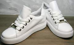 Спортивные женские туфли Molly shoes 557 Whate