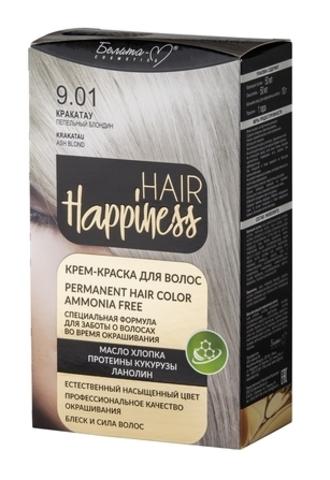 Белита-М Hair Happiness Крем краска для волос №9.01 Кракатау Пепельный блондин