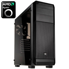 Компьютер AMD Ryzen 5 1600, GTX 1050 2Gb, HDD 1Tb, SSD