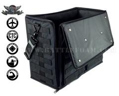 Сумка Battle Foam на 432 миниатюры с универсальными треями (черная)
