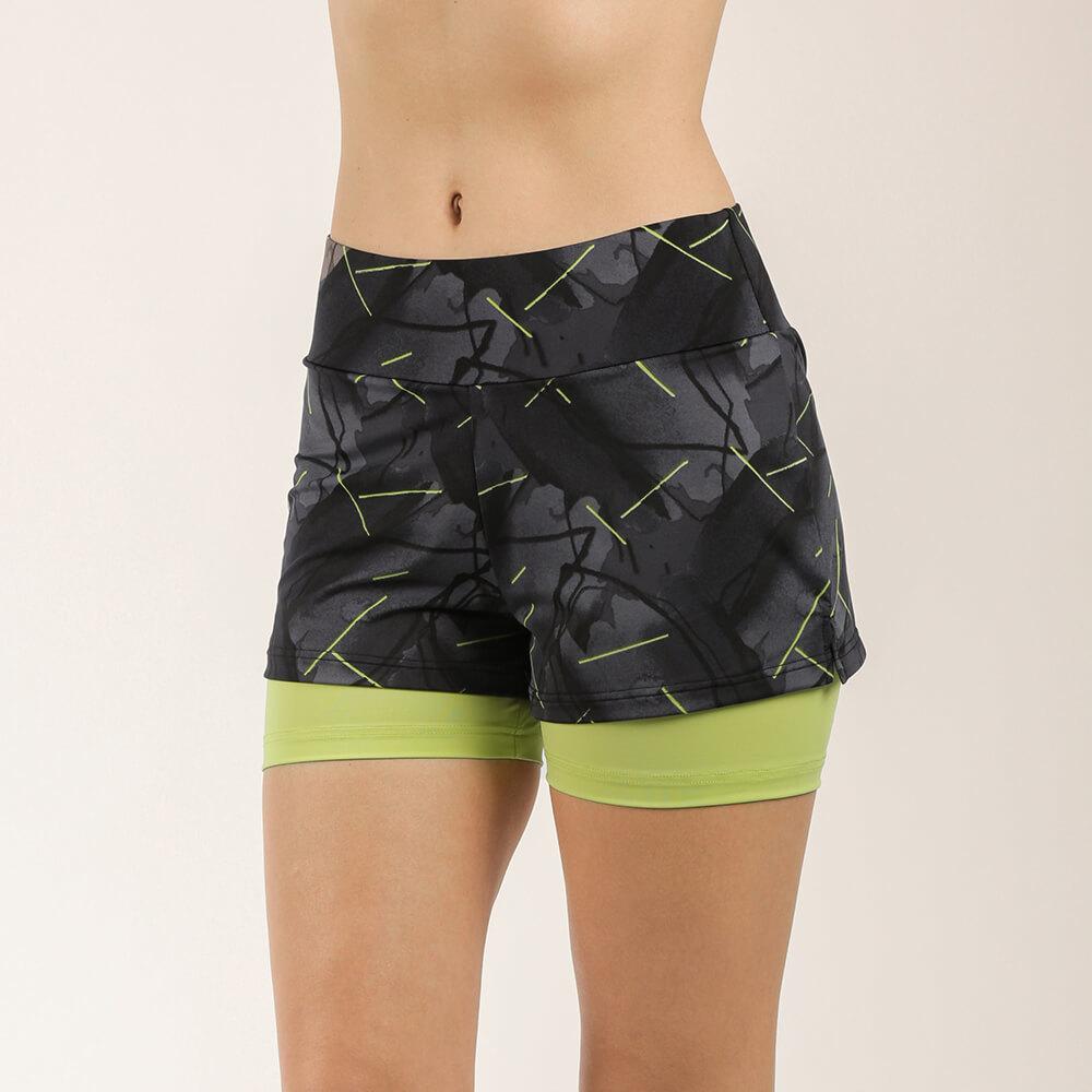 Женские шорты спортивные E20K-12D103