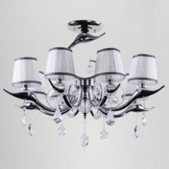 Потолочный светильник Crystal Lux FLAMINGO SP-PL8 CR