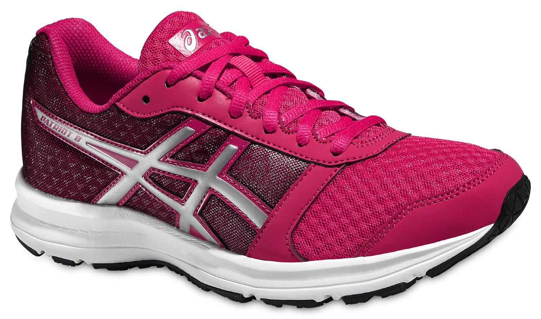 Женские кроссовки для бега Asics Patriot 8 (T669N 2193) розовые фото