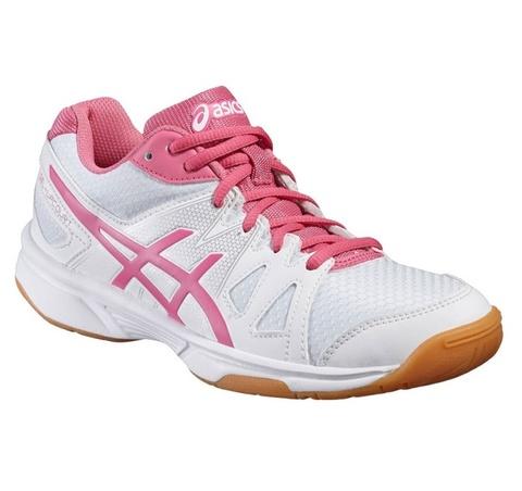 ASICS GEL-UPCOURT GS детские волейбольные кроссовки белые