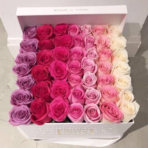 Коробка Maison Des Fleurs с розами 8