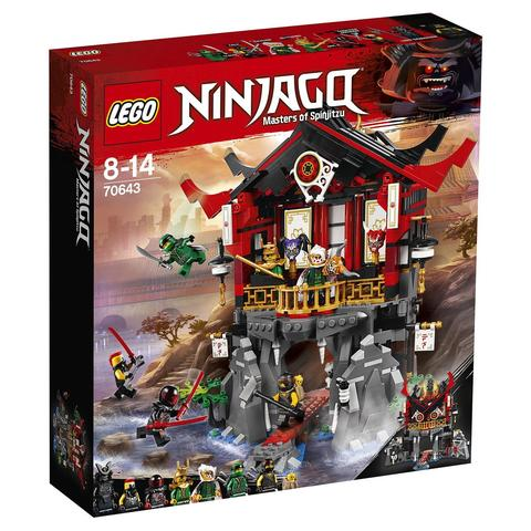 LEGO Ninjago Movie: Храм Воскресения 70643 — Temple of Resurrection — Лего Ниндзяго фильм