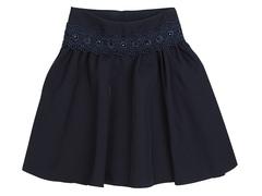 2577-1 юбка детская, темно-синяя