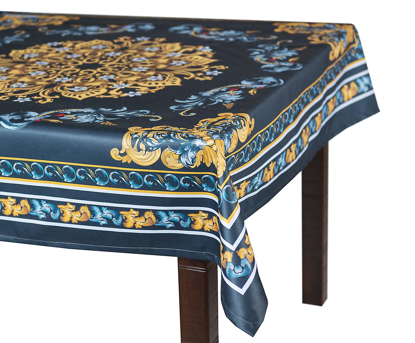 Кухня Скатерть 140x180 Blonder Home Delight синяя skatert-140x180-blonder-home-delight-sinyaya-ssha-rossiya.jpg