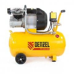 Компрессор пневматический DENZEL 2,2 кВт, 50 л
