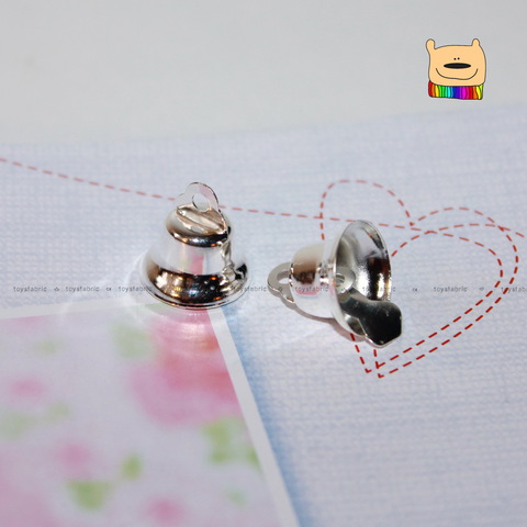 Колокольчик 14мм (серебро) С145