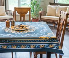 Скатерть 140x180 Blonder Home Delight синяя
