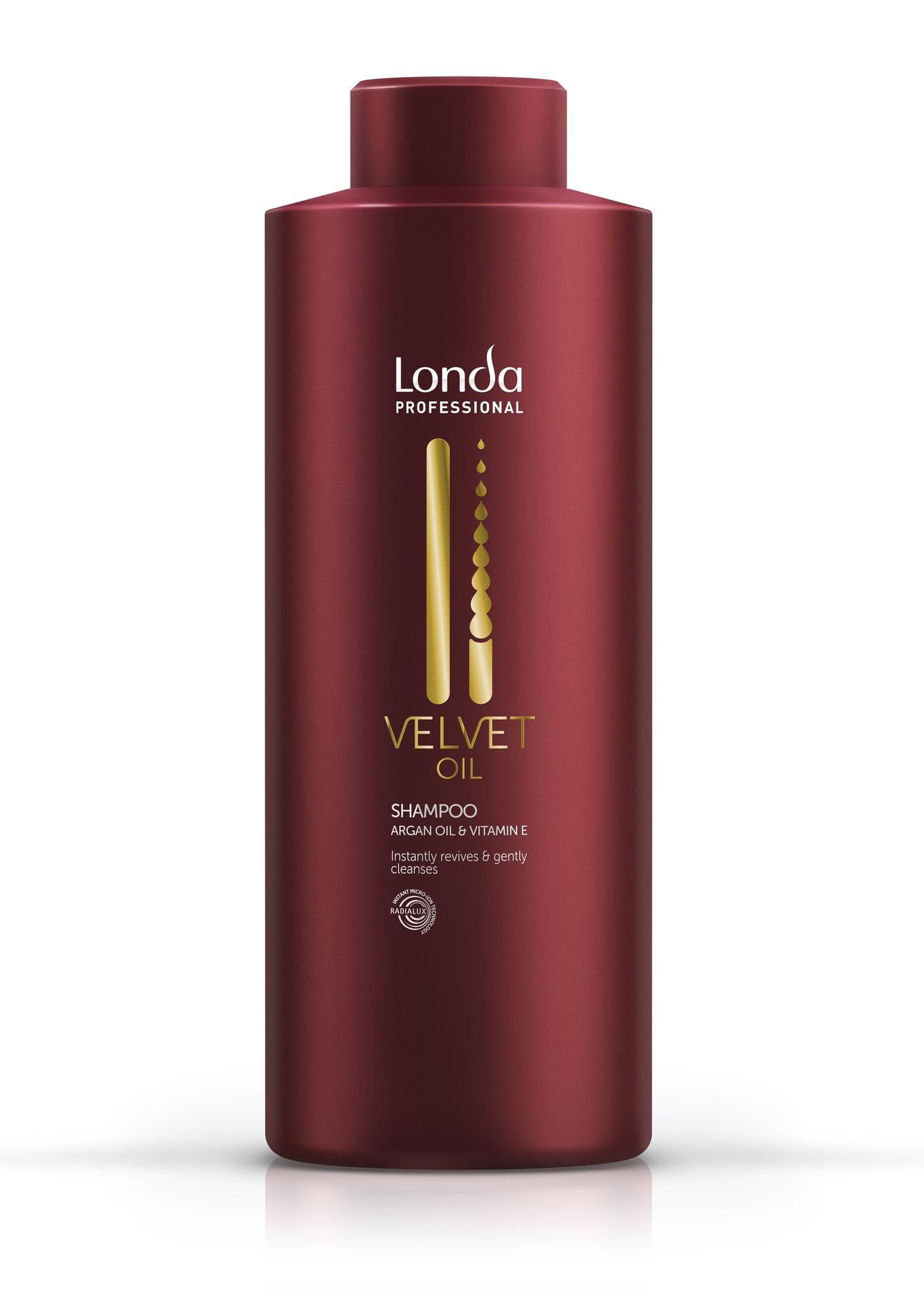 Velvet Oil Обновляющий шампунь Londa
