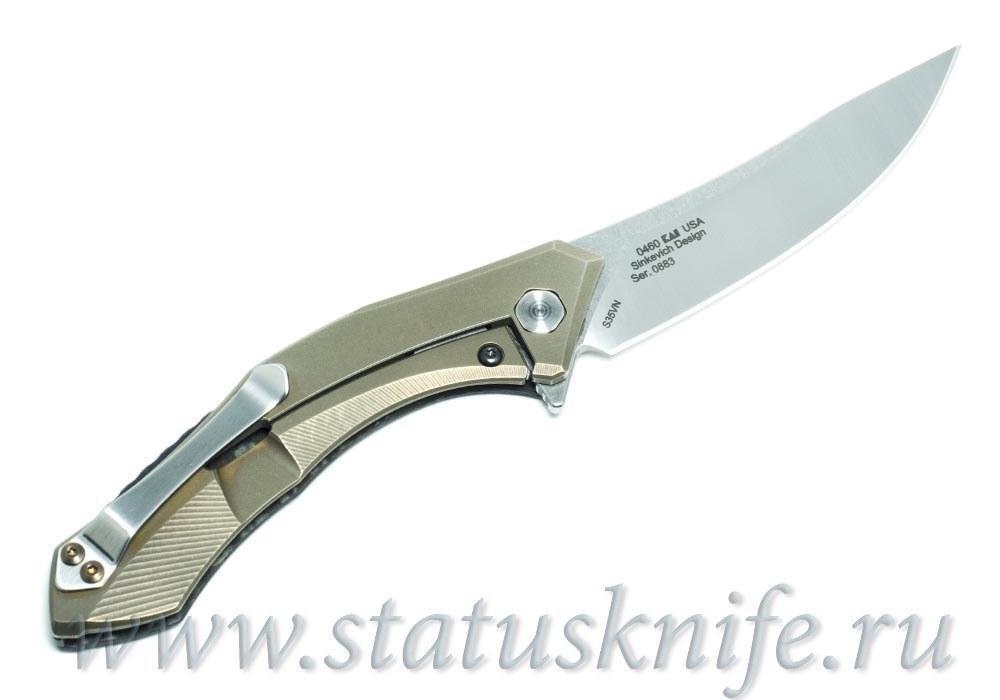 Нож Zero Tolerance 0460CF ZT 0460CF Кастомизированный