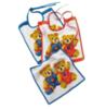 Слюнявчик махровый Teddy Kids персиковый от Feiler