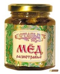 """Мёд натуральный """"Потапычъ"""" разнотравье 250г ГОСТ"""