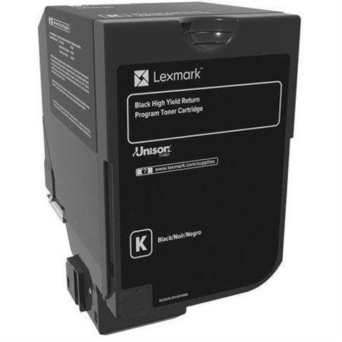 Тонер-картридж для принтеров Lexmark CS720, CS725, CX725 черный (black). Ресурс 7000 стр (74C5SK0)