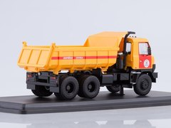 Tatra 815S1 tipper Emergency Service yellow-red 1:43 Start Scale Models (SSM)