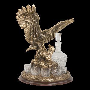 Питейный набор - Поединок орла с шакалом