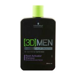 Шампунь активирующий рост волос Schwarzkopf [3D]Men Root Activator Shampoo