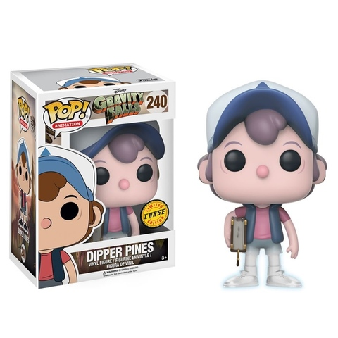 Фигурка Funko Pop! Animation: Gravity Falls - Dipper Pines (Chase (Glow in the dark))