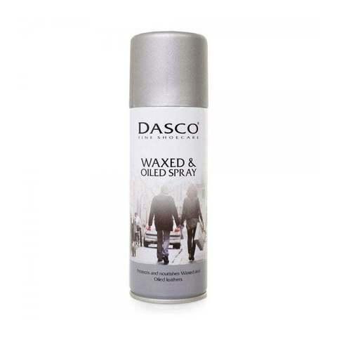Аэрозоль для восстановления и защиты обуви и изделий из ВСЕХ кож,А4010DAS DASCO WAXED&OILED LEATHERS, 200мл.
