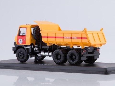 Tatra 815S1 tipper Emergency Service yellow-red 1:43 Start Scale Models (SSM)