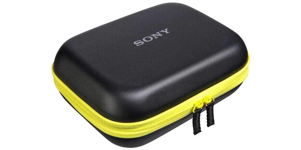 Чехол Sony (LCM-AKA1) вид сбоку