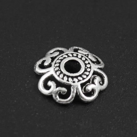 Шапочка Ксения 12 мм серебро 925 1 шт