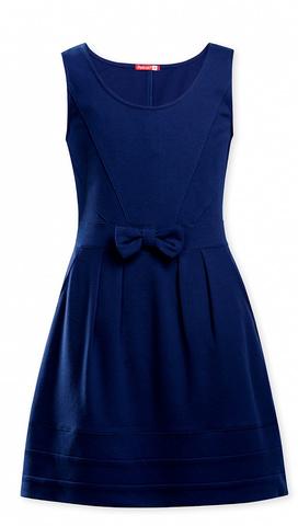 Pelican Школьный сарафан для девочки GFDV7039 синий