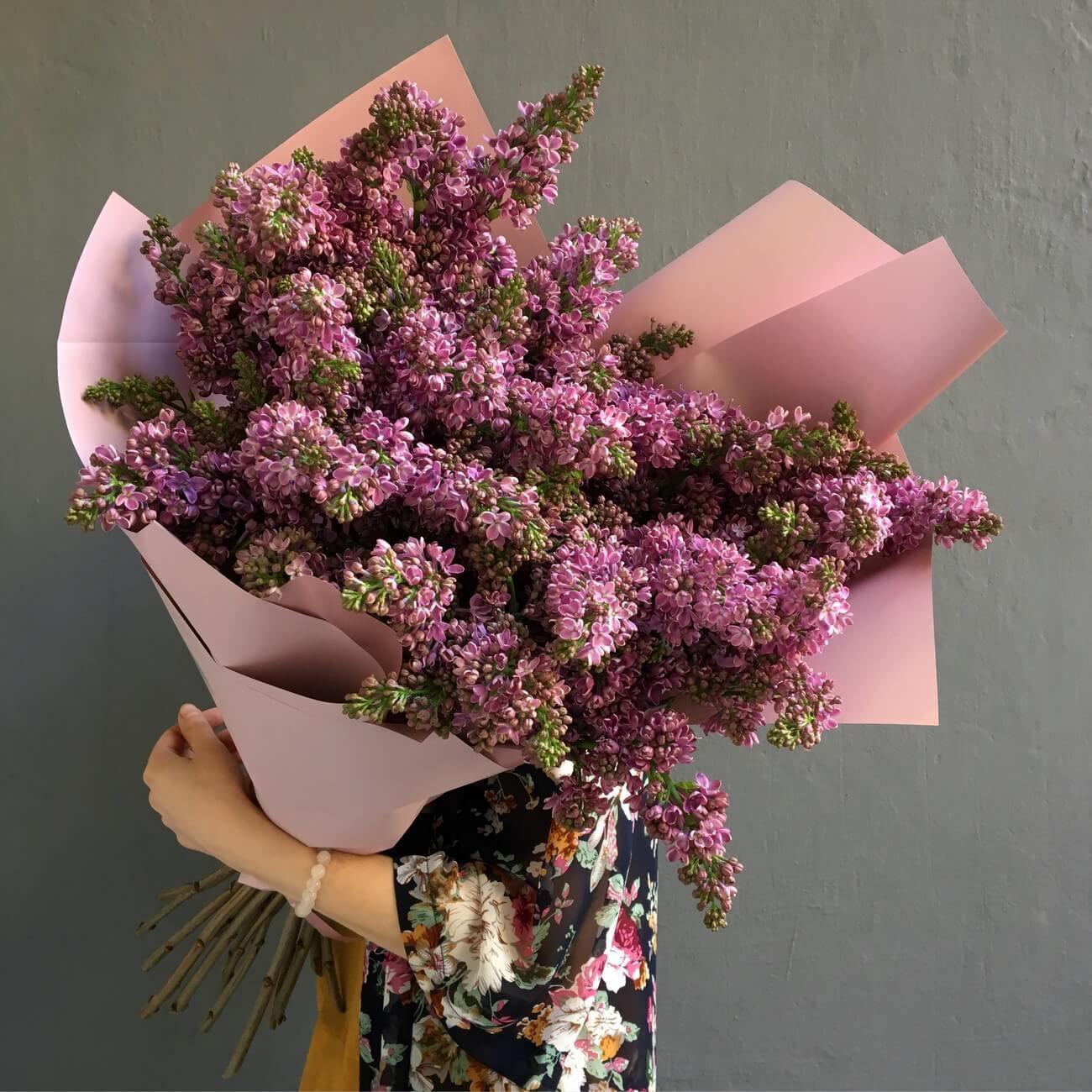 Букет из сирени минск, цветов щелковский район