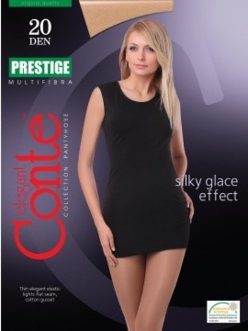 Conte Prestige Колготки женские 20d, p.2 nero