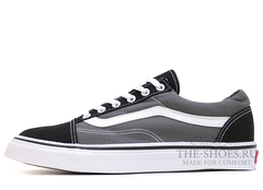 Кеды Vans Low Old Skool Grey Black Suede