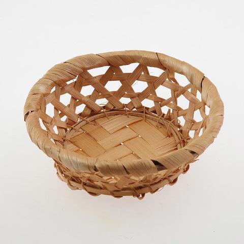 Корзинка для мыла плетеная круглая