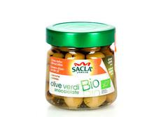 Оливки зеленые без косточки Био, 185г