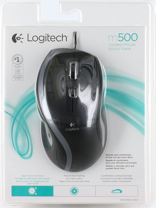 LOGITECH M500 Black USB (104881)
