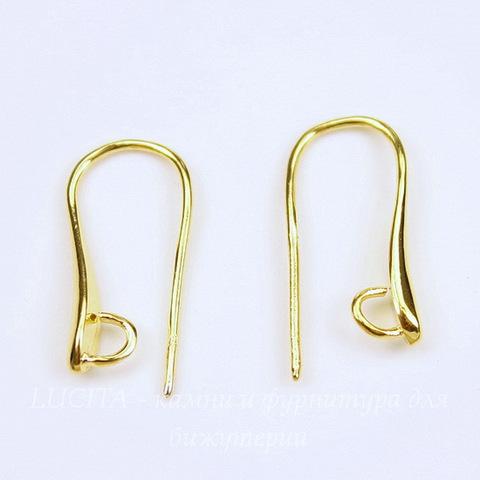 Швензы - крючки 20х10 мм (цвет - золото)