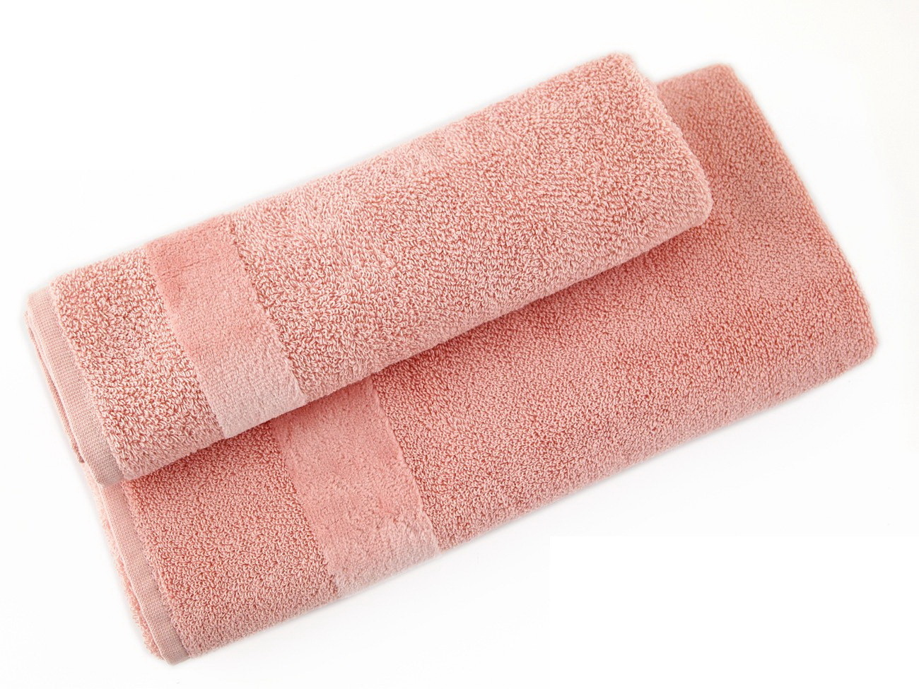 Наборы полотенец Набор полотенец 2 шт Carrara Fyber светло-розовый elitnye-polotentsa-mahrovye-fyber-504-svetlo-rozovye-ot-carrara-italiya.JPG