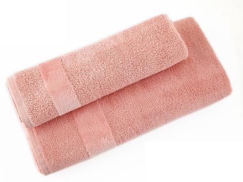 Набор полотенец 2 шт Carrara Fyber светло-розовый