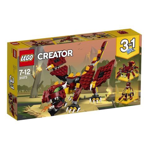 LEGO Creator: Мифические существа 31073 — Mythical Creatures — Лего Креатор Создатель