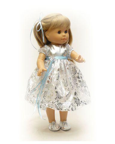 Платье рождественское - . Одежда для кукол, пупсов и мягких игрушек.