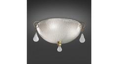 Italamp 760 35 Satin White OA — Потолочный накладной светильник