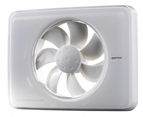 Накладной вентилятор FRESH Intellivent White