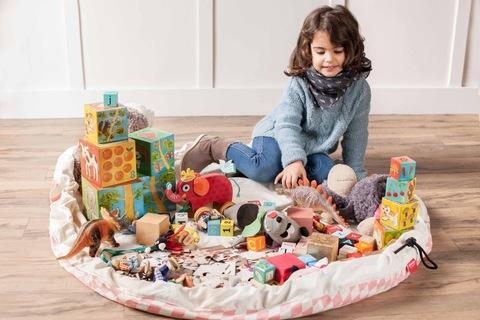 Мешок для игрушек Play&Go Print РОЗОВЫЙ БРИЛЛИАНТ