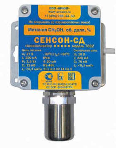 Сенсон-СД-7032-СМ-СН4-3-ОП - система газоаналитическая
