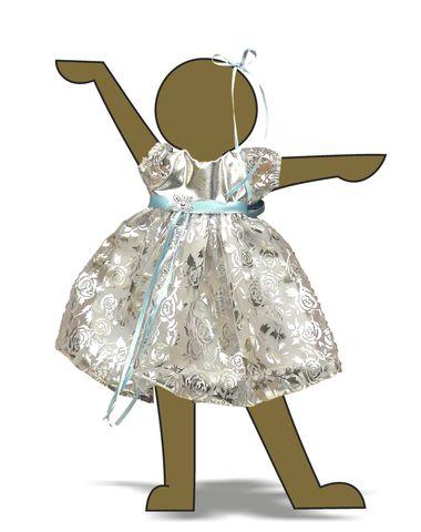 Платье рождественское - Демонстрационный образец. Одежда для кукол, пупсов и мягких игрушек.