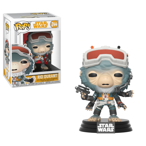 Фигурка Funko POP! Bobble: Star Wars: Solo: Rio Durant POP 16 26992