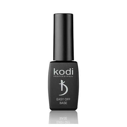 Kodi, База для гель-лака, не требует полимеризации в UV и LED лампе, Easy Off Base, 8 мл