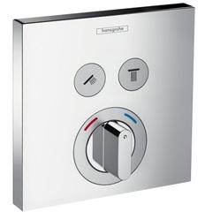 Термостат встраиваемый на 2 потребителя Hansgrohe ShowerSelect 15768000 фото